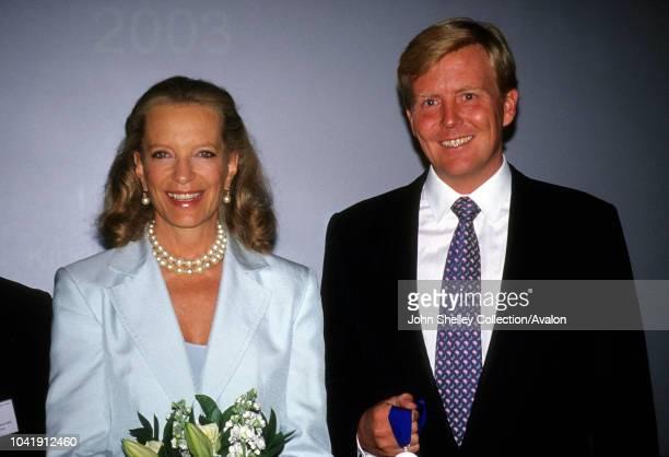 Princess Michael of Kent, Prince Willem Alexander of the Netherlands, 1990s.