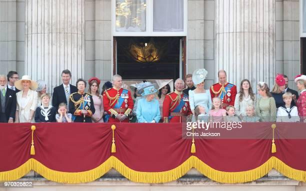 Princess Michael of Kent Vice Admiral Sir Tim Laurence Princess Anne Princess Royal Princess Beatrice Lady Louise Windsor Prince Andrew Duke of York...