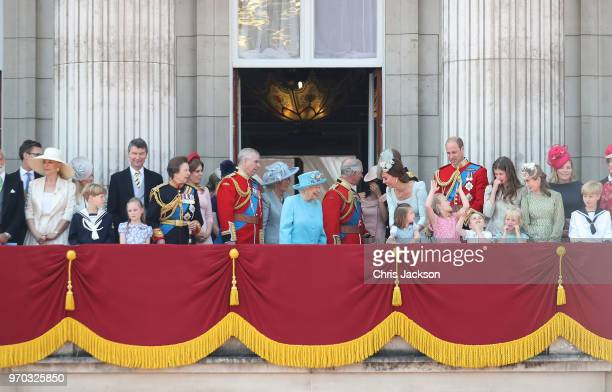 Princess Michael of Kent Vice Admiral Sir Tim Laurence Princess Anne Princess Royal Princess Beatrice Lady Louise Windsor Prince Andrew Duke of York...