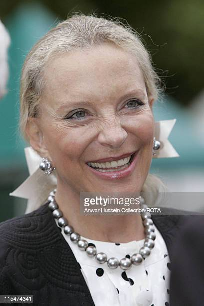 HRH Princess Michael of Kent visits the RHS Chelsea Flower Show in London on May 21 2007