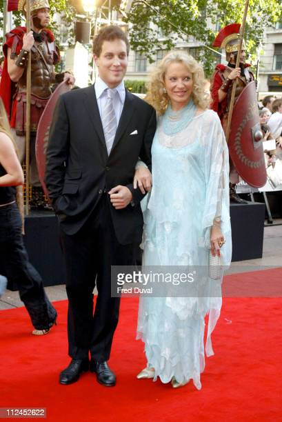 Princess Michael of Kent with her son Freddie Windsor