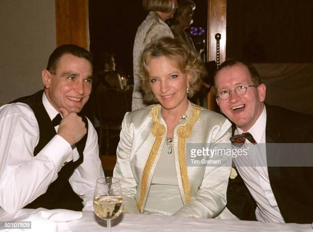 Princess Michael Of Kent With Vinnie Jones And Eddie Edwards At The Sparks Annual Ball