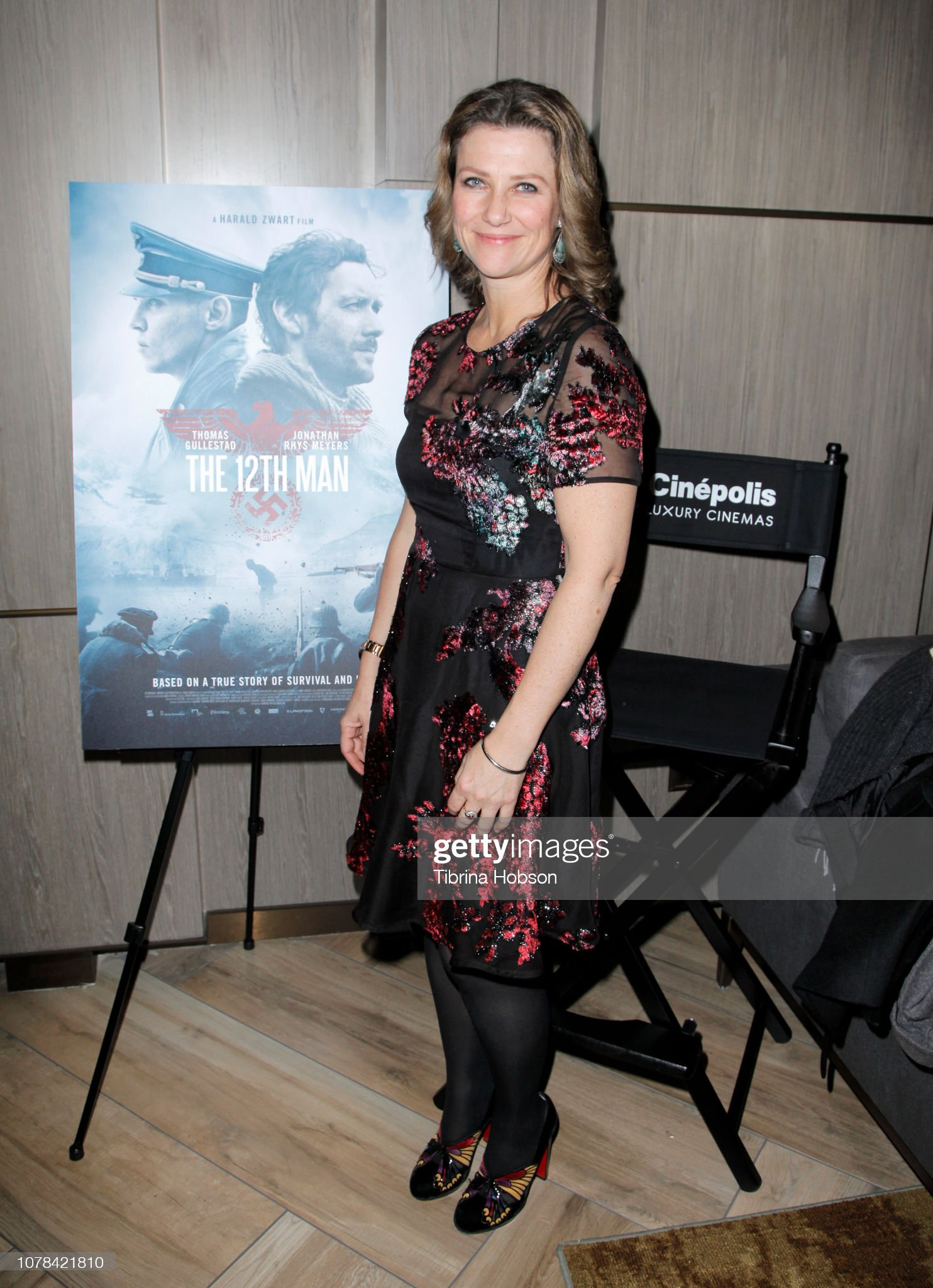 "Princess Märtha Louise Of Norway Hosts AMPAS Los Angeles Screening Of ""The 12th Man"" : News Photo"