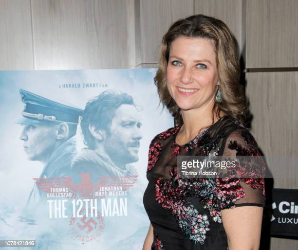 Princess Märtha Louise of Norway attends the AMPAS Los Angeles screening of 'The 12th Man' hosted by Princess Märtha Louise of Norway at Cinepolis...