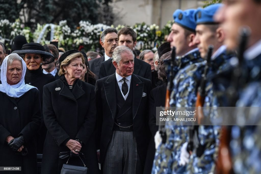 ROMANIA-KING MICHAEL-FUNERAL : News Photo