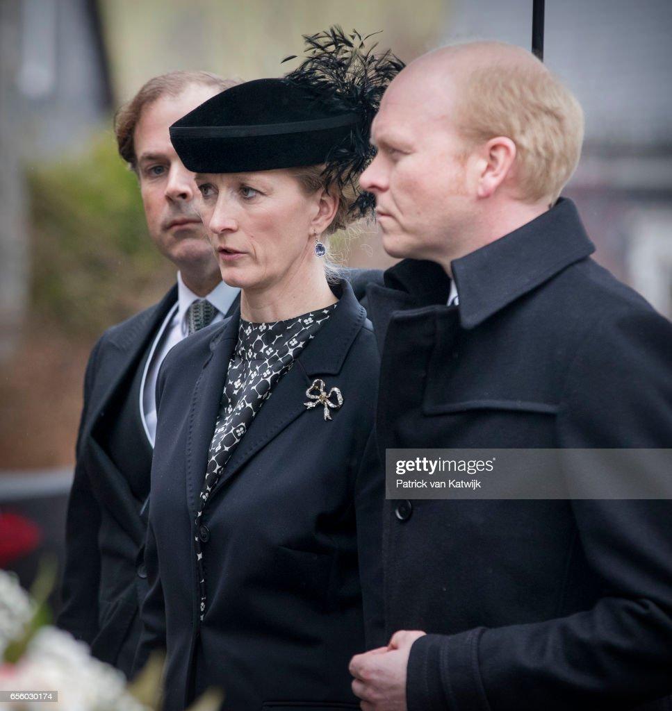 Prince Richard Funeral Service In Bad Berleburg : News Photo