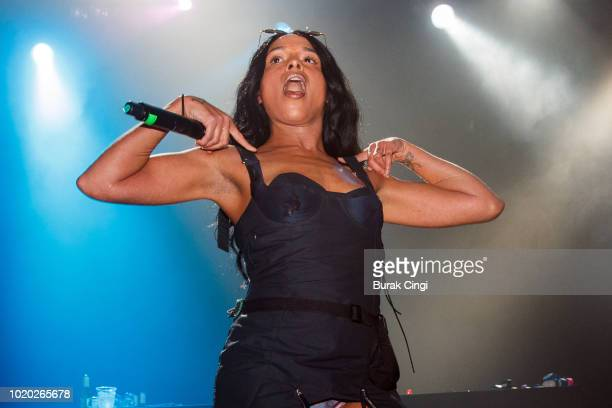 Biig Piig performs at O2 Forum Kentish Town on August 20 2018 in London England