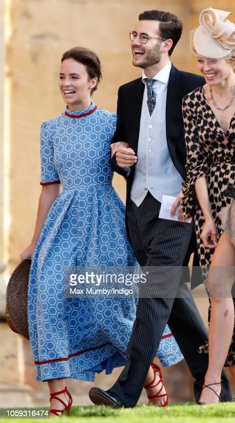 Princess Nora zu OettingenOettingen und OettingenSpielberg and Lord Max Percy attend the wedding of Princess Eugenie of York and Jack Brooksbank at...