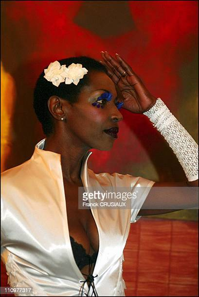 Princess Of Burundi Esther Kamatari in Lille France on October 16 2003