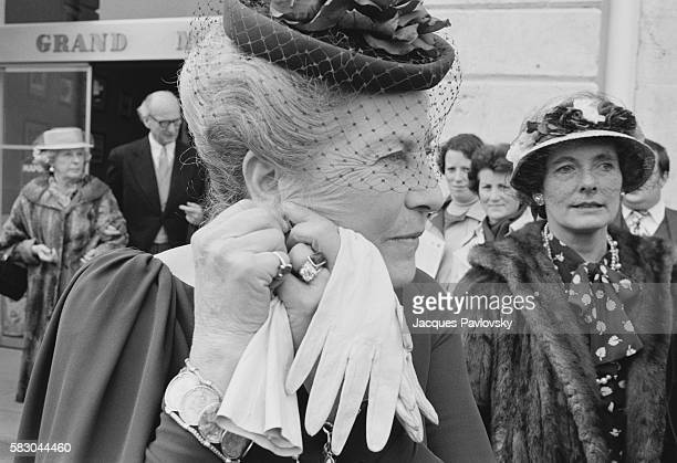Princess of Orleans attends the wedding of Beatrice of HabsburgLotrigen and Riprand Von und Zu ArcoZinneberg