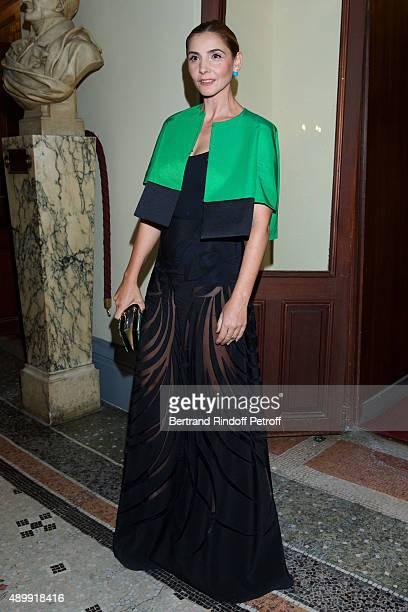 Princess of Savoy Clotilde Courau attends the Ballet National de Paris Opening Season Gala at Opera Garnier on September 24, 2015 in Paris, France.