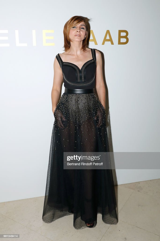 Elie Saab : Front Row - Paris Fashion Week - Haute Couture Fall Winter 2018/2019 : News Photo