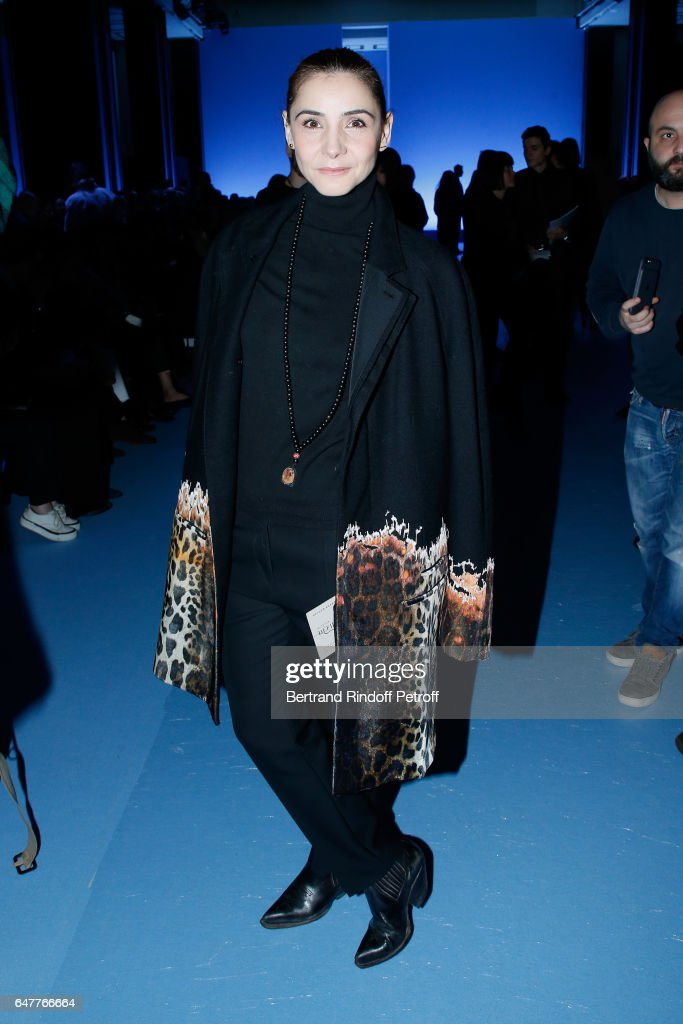 Princess of Savoy, Clotilde Courau attends the Haider Ackermann show as part of the Paris Fashion Week Womenswear Fall/Winter 2017/2018 on March 4, 2017 in Paris, France.