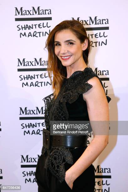 Princess of Savoy Clotilde Courau attends the Max Mara 'Prism in Motion' Eventas with the presentation of the new collection Capsule of sunglasses...