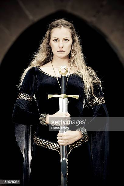 princess of sword - queen royal person stock pictures, royalty-free photos & images