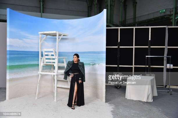 Princess of Thailand Sirivannavari Nariratana attends the Chanel show as part of the Paris Fashion Week Womenswear Spring/Summer 2019 on October 2...