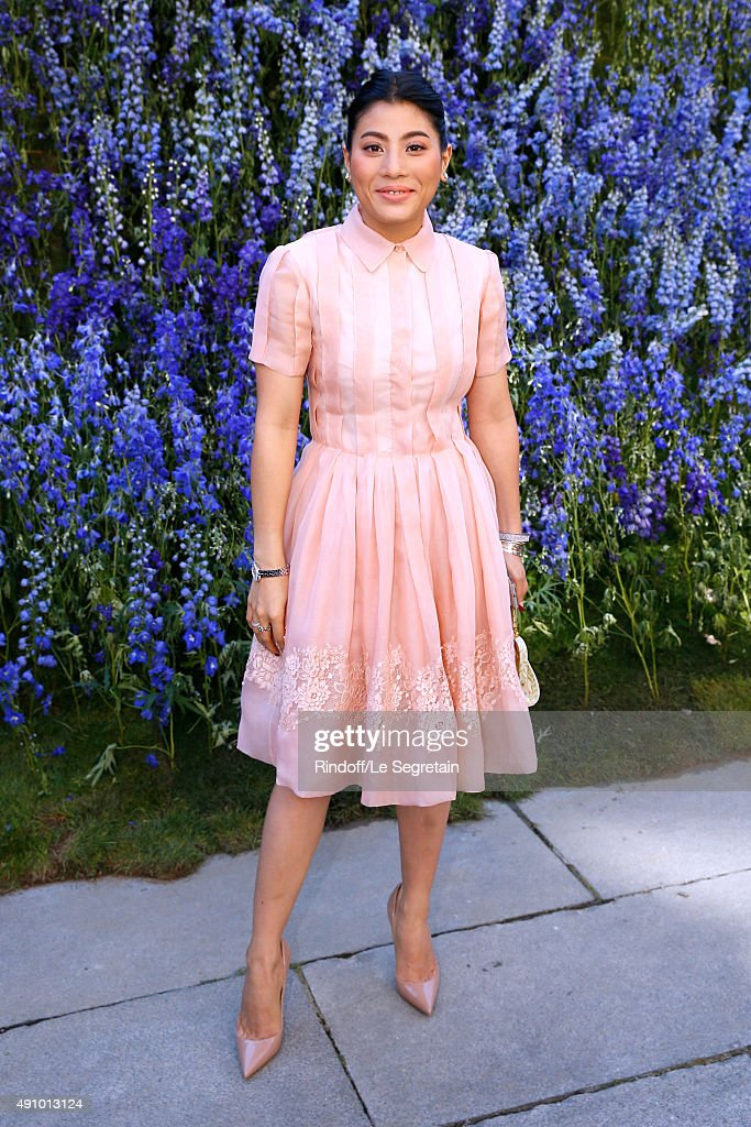 Princess of Thailand Sirivannavari Nariratana attends the Christian Dior show as part of the Paris Fashion Week Womenswear Spring/Summer 2016. Held at Cour Carre du Louvre on October 2, 2015 in Paris, France.