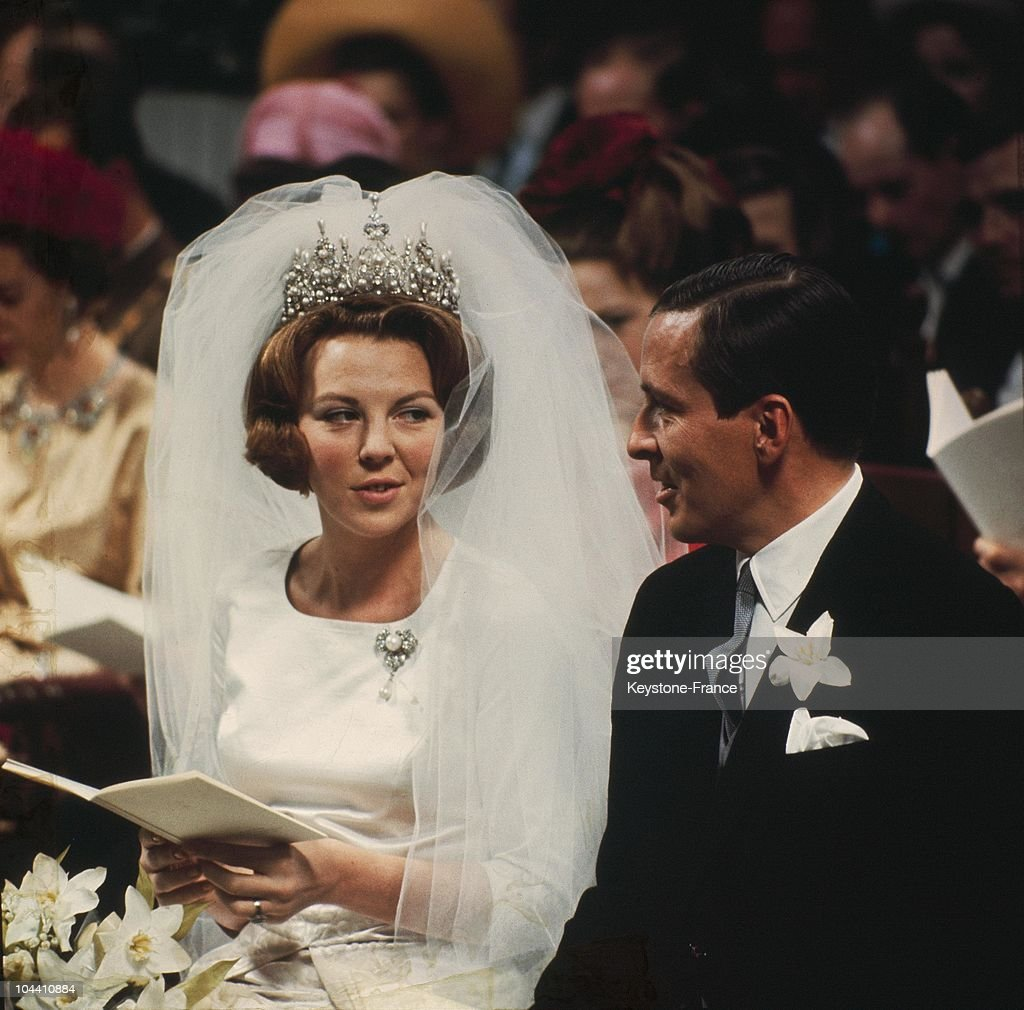 Wedding Of Beatrice Of Holland And Claus Von Amsberg 1966 : News Photo