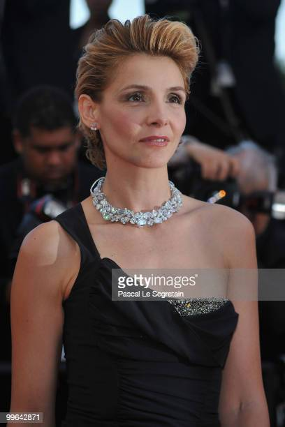 Princess of Venice and Piedmont Clotilde Courau attends Biutiful Premiere at the Palais des Festivals during the 63rd Annual Cannes Film Festival on...
