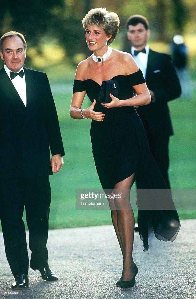 Princess Diana At Serpentine : News Photo