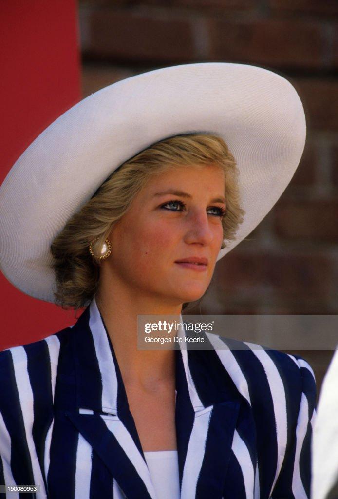 Diana in Australia : News Photo