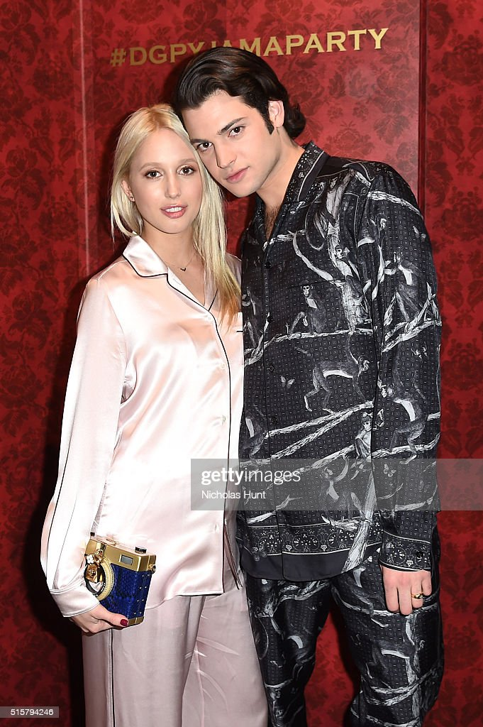 Dolce & Gabbana Pyjama Party At 5th Avenue Boutique : News Photo