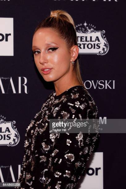 Princess Olympia of Greece attends the 2017 Harper ICONS party at The Plaza Hotel on September 8 2017 in New York City