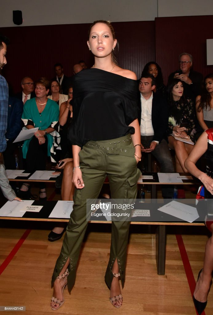 Monse - Front Row & Backstage - September 2017 - New York Fashion Week: The Shows : News Photo