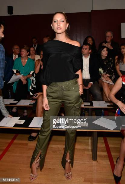 Princess Olympia of Greece attends the Monse fashion show during New York Fashion Week The Shows on September 8 2017 in New York City