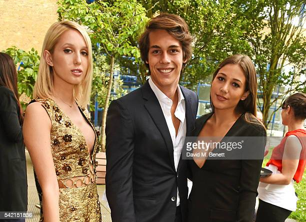 Princess Olympia of Greece Flynn Busson and Camille Martayan attend a private dinner hosted by Michael Kors to celebrate the new Regent Street...