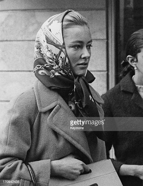 Princess Paola of Belgium in Rome to visit her mother Donna Luisa Princess Ruffo di Calabria 5th February 1966