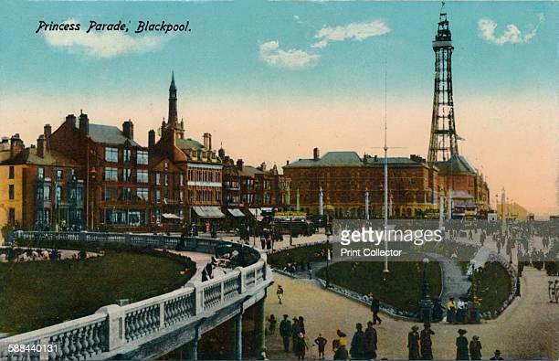 Princess Parade, Blackpool, circa 1915.