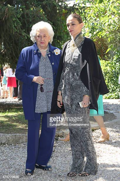 Princess Pilar and Laura Ponte attend the First Communion of Luis and Laura Gomez-Acebo on May 23, 2015 in Madrid, Spain.