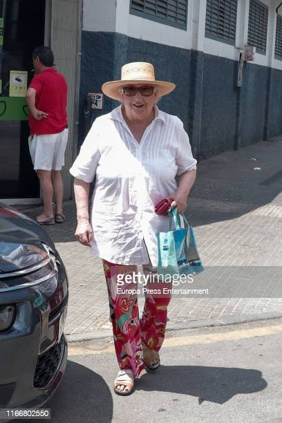 Princess Pilar de Borbon is seen on July 29 2019 in Palma de Mallorca Spain