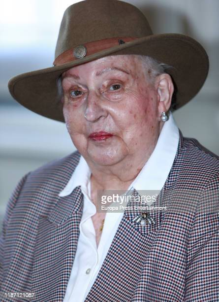 Princess Pilar of Spain attends 'Rastrillo Nuevo Futuro 2019' presentation at Edificio Central Telefonica on November 12 2019 in Madrid Spain