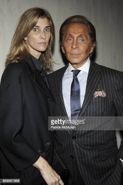 Princess Rosario of Bulgaria and Valentino Garavani attend Gwyneth Paltrow and VBH's Bruce Hoeksema Host Cocktail Party for Valentino The Last...
