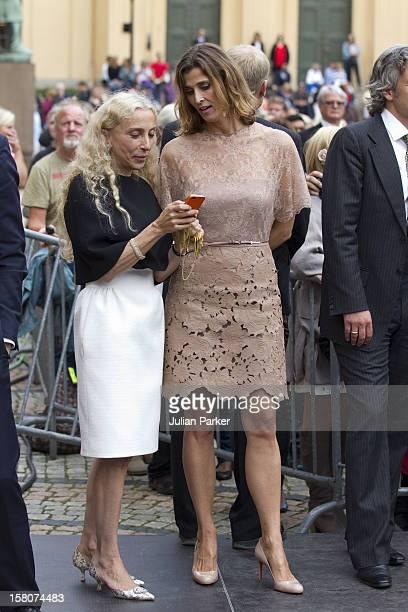 Princess Rosario Of Bulgaria And Vogue Magazines Italian Editor Franca Sozzani Attending A Concert To Mark The 10Th Wedding Anniversary Of Crown...