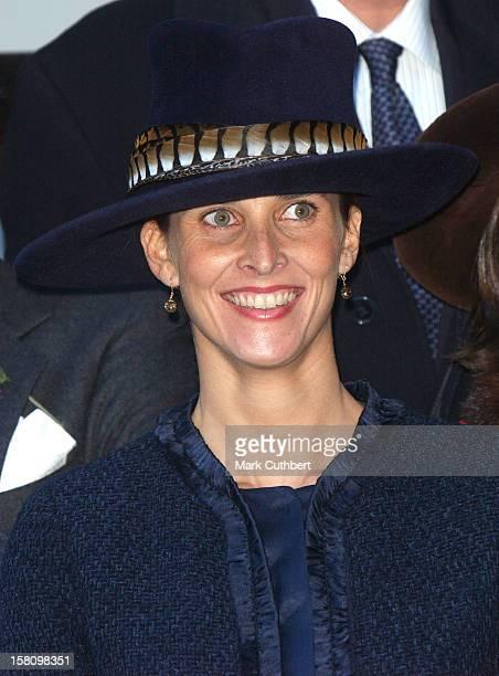 Princess Rosario Of Bulgaria At The Wedding Of Princess Kalina Of Bulgaria To Mr Kitin Munoz At Bistritsa Palace Borovets Bulgaria