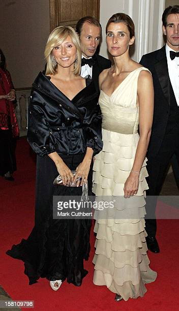 Princess Rosario Of Bulgaria Crown Princess MarieChantal Of Greece Attend A Dinner To Launch The Jordan River Foundation In The Uk And To Establish...