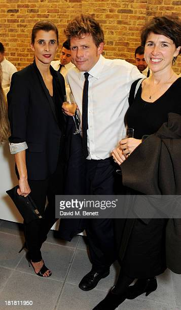 Princess Rosario of Bulgaria Roger Tatley and Malena Bach attend the VIP opening of the Serpentine Sackler Gallery and the launch of their autumn...