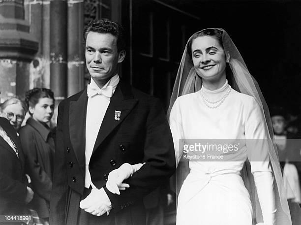 Princess Salome Murat The Daughter Of Achille Napoleon Murat Himself The Grandson Of Joachim Murat And Caroline Bonaparte Married Abrin Chalandon The...