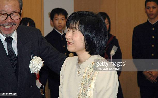 Princess Sayako attends the Youth Speech Contest on Novemebr 14 2004 in Tokyo Japan