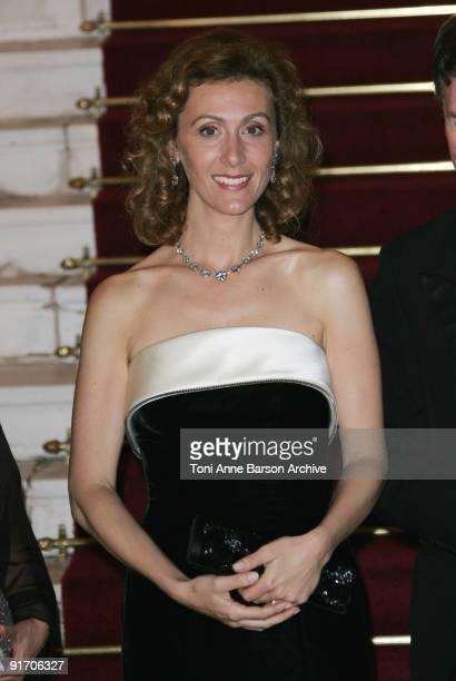 Princess Sibilla of Luxembourg attends the EORTC Gala Charity Dinner at Opera Garnier, Monte Carlo Casino on October 9, 2009 in Monte-Carlo, Monaco.