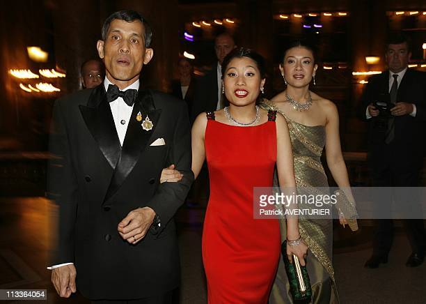 Princess Sirivannavari Nariratana Of Thailand Fashion Collection In Paris France On September 29 2007 Princess Sirivannavari her father Crown prince...