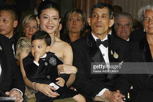 Princess Sirivannavari Nariratana Of Thailand Fashion Collection In Paris France On September 29 2007 Crown prince of Thailand Maha Vajiralongkorn...
