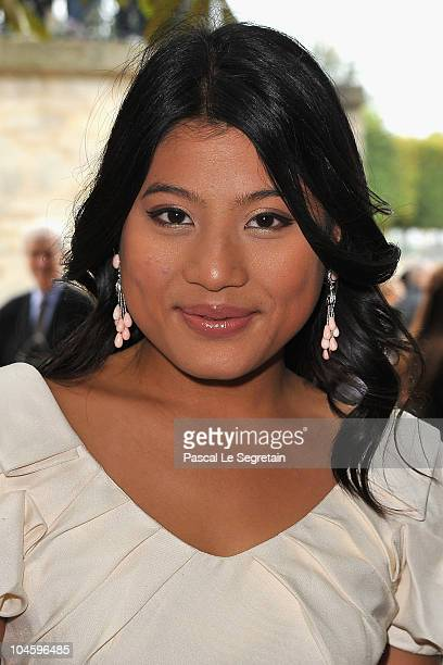 Princess Siriwanwaree Nareerat Of Thailand attends the Christian Dior Ready to Wear Spring/Summer 2011 show during Paris Fashion Week at Espace...
