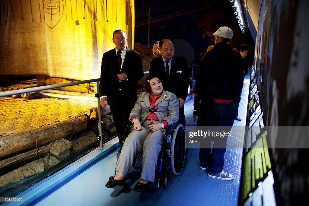 Princess Soamsawali  of Thailand visits : News Photo