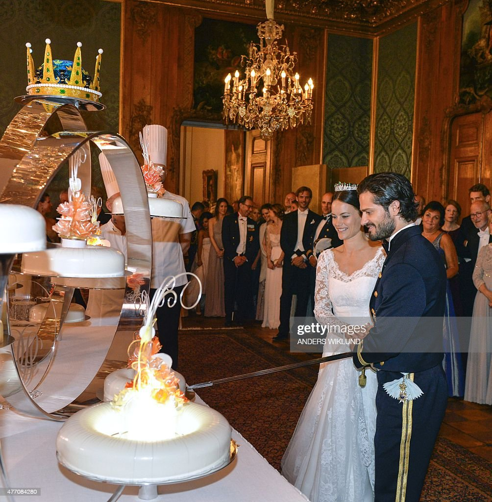 SWEDEN-ROYALS-WEDDING : News Photo