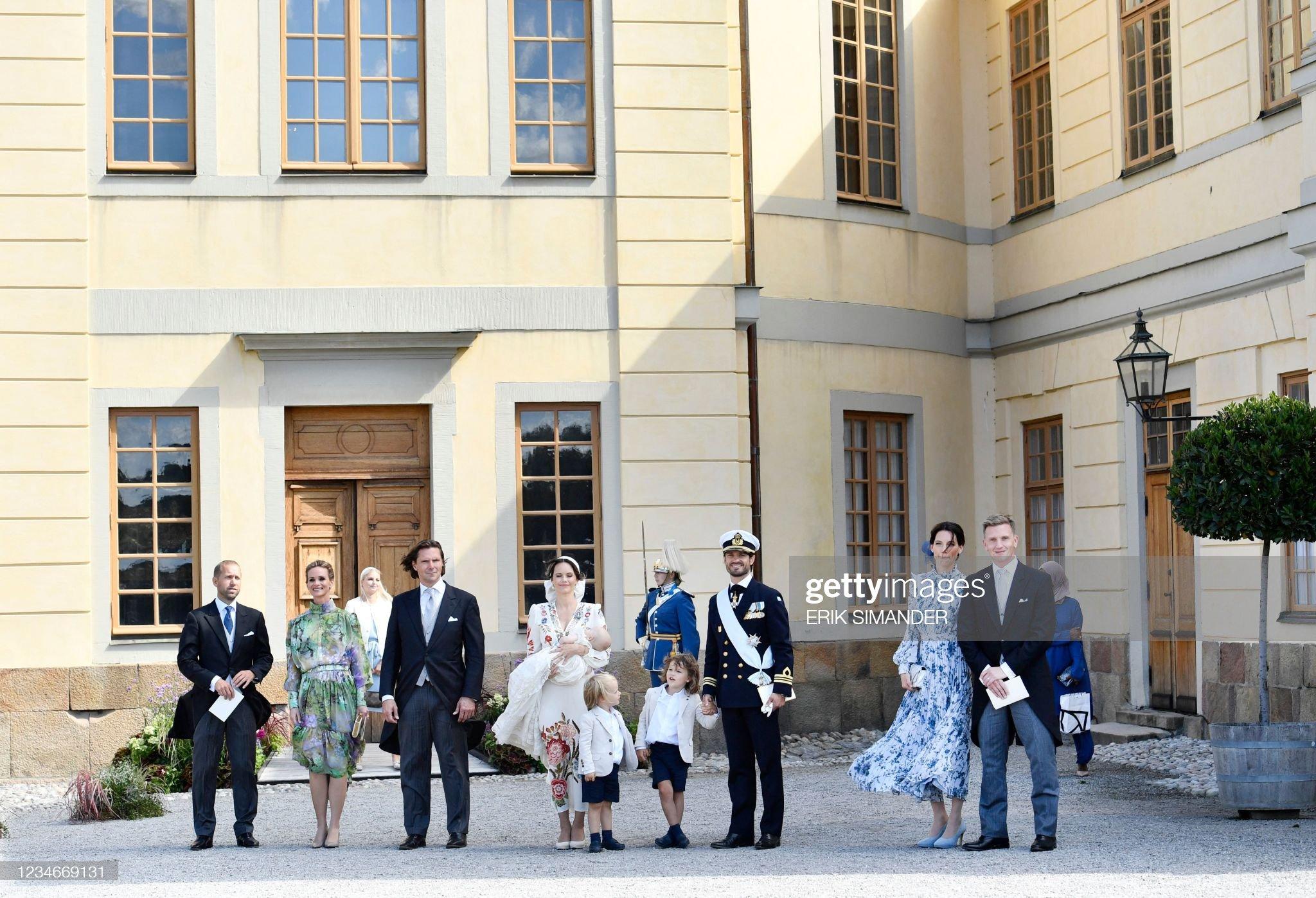 SWEDEN-ROYALS-RELIGION-CHRISTENING-JULIAN : News Photo