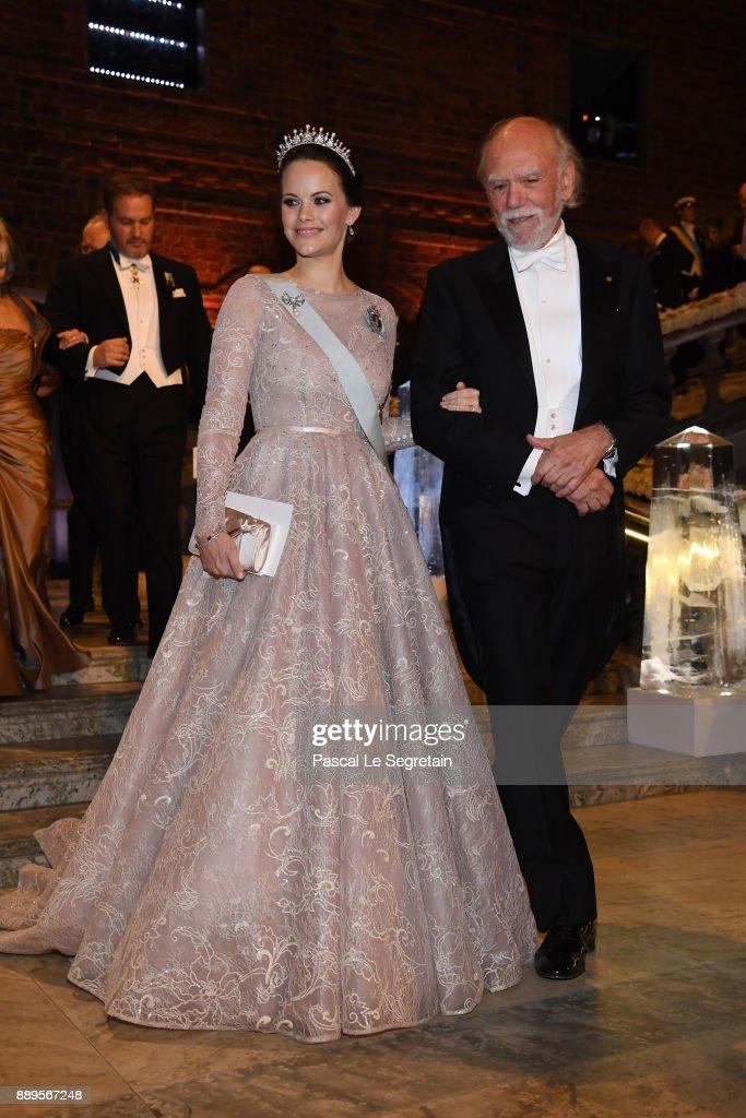 Nobel Prize Banquet 2017, Stockholm : News Photo